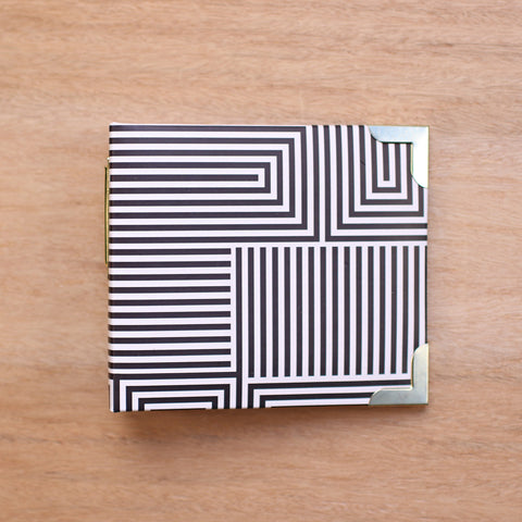 Black + White 4x4 Album - Pocket Scrapbooking - 1