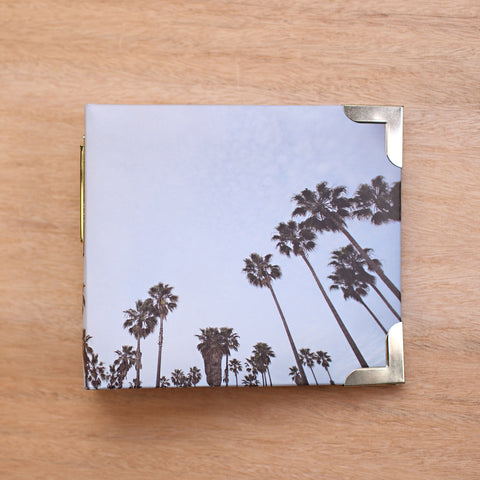 Palm Trees 4x4 Album - Pocket Scrapbooking - 1