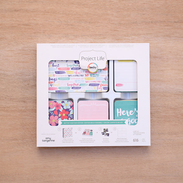 Better Together Core Kit - Pocket Scrapbooking & Memory Keeping - 1