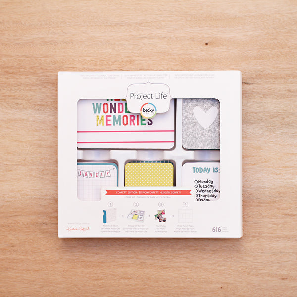 Confetti Edition Core Kit - Pocket Scrapbooking & Memory Keeping - 1