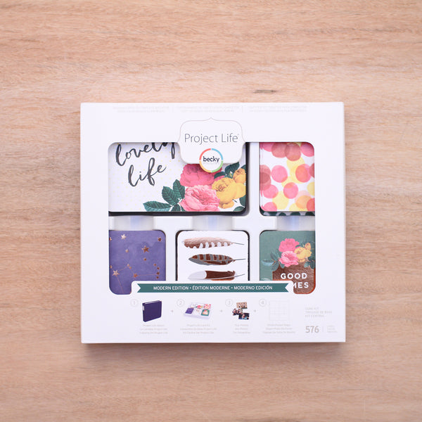 Modern Core Kit - Pocket Scrapbooking & Memory Keeping - 1