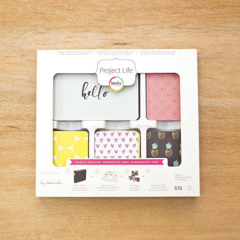 Project 52 - Fresh Core Kit - Pocket Scrapbooking & Memory Keeping - 1