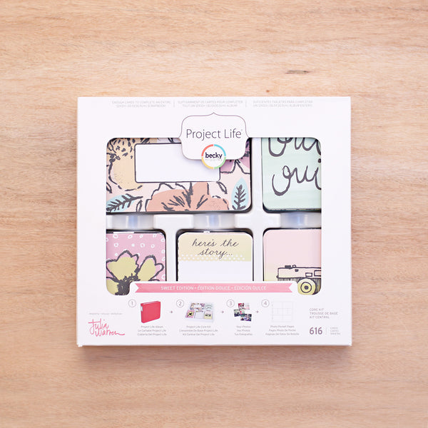 Sweet Edition Core Kit - Pocket Scrapbooking & Memory Keeping - 1