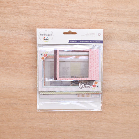 Currently Edition Die-Cut Frames - Pocket Scrapbooking - 1