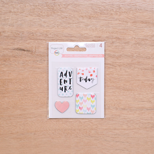 Inspire Edition Flat Magnets - Pocket Scrapbooking - 1