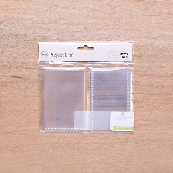 Instax Fuse Pockets - Pocket Scrapbooking & Memory Keeping - 1
