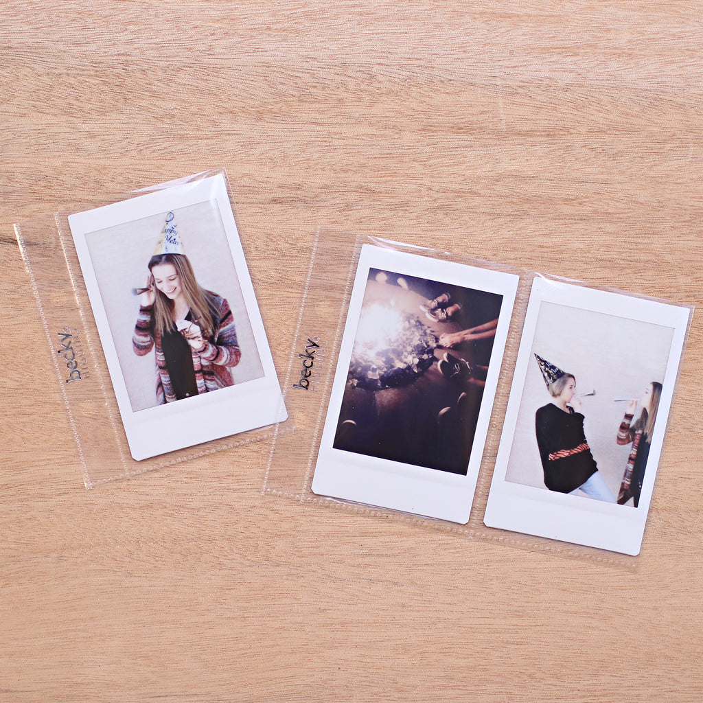 Instax Mini Album Pocket Pages Becky Higgins