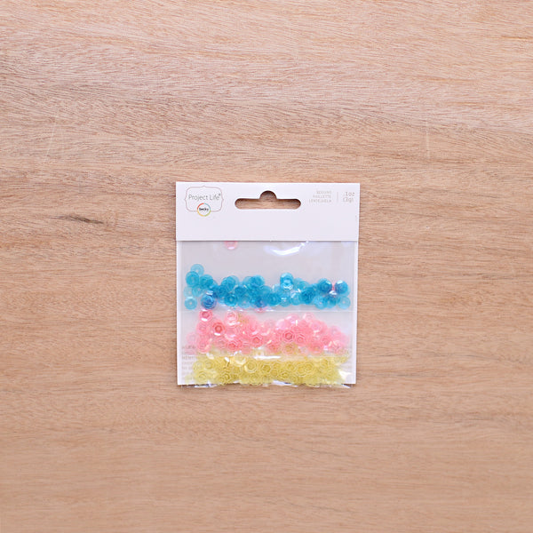 Loose Sequins - Pocket Scrapbooking & Memory Keeping - 1