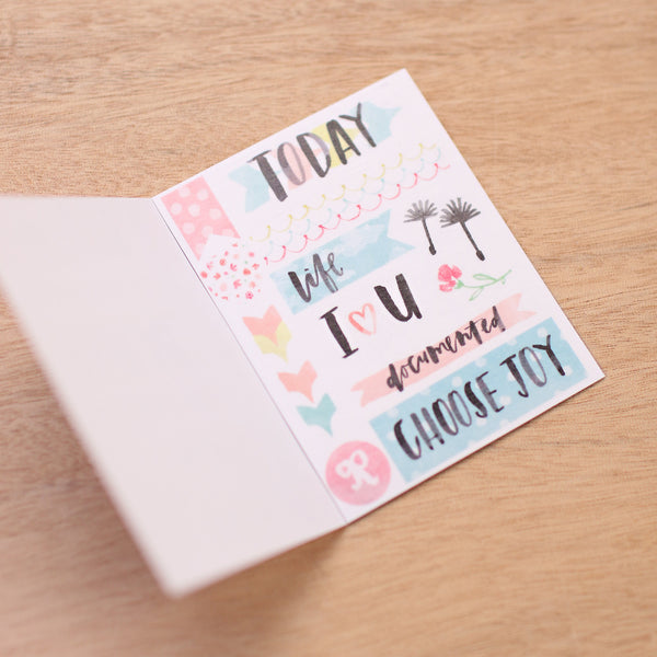 Inspire Edition Washi Tape Book - Pocket Scrapbooking - 1