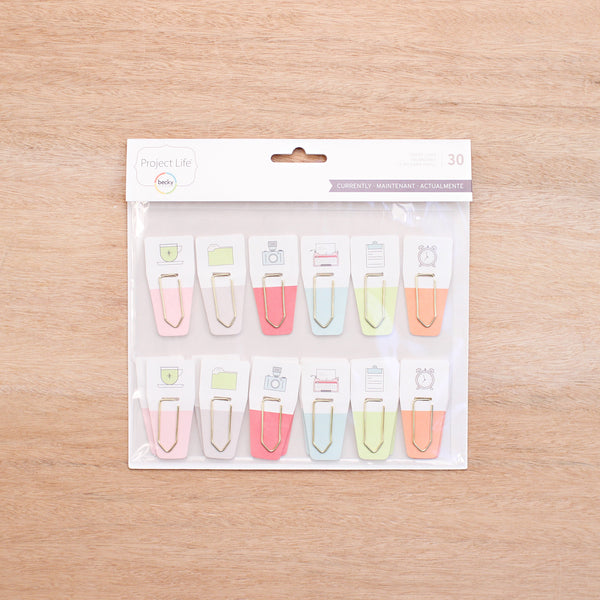 Currently Edition Paper Clips - Pocket Scrapbooking - 1