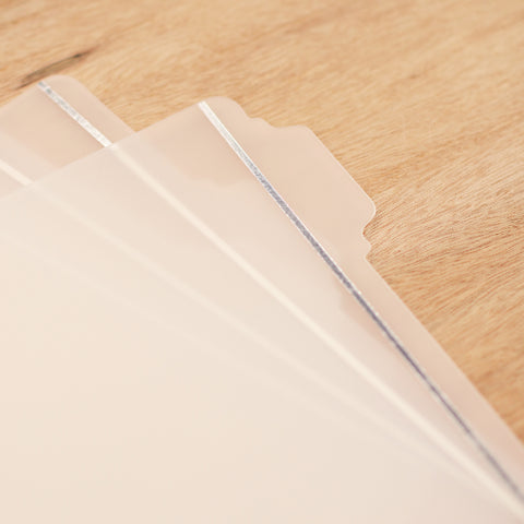 6x8 Tabbed Dividers - Pocket Scrapbooking - 1