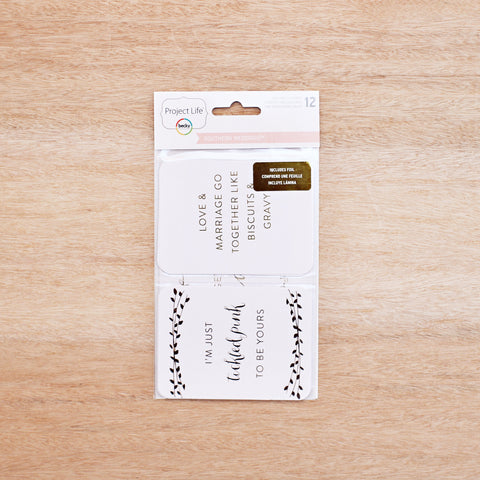 Southern Weddings Specialty Cards - Southern - Pocket Scrapbooking - 1