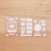 Southern Weddings Edition Chipboard Stickers