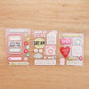 High Five Edition Chipboard Stickers