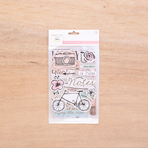 Sweet Edition Chipboard Stickers - Pocket Scrapbooking - 1