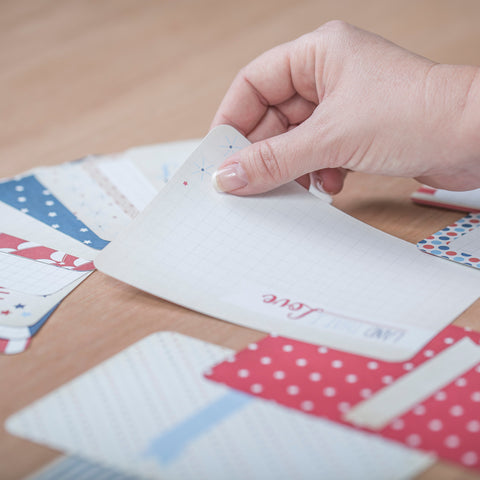 Americana Themed Cards - Pocket Scrapbooking - 1