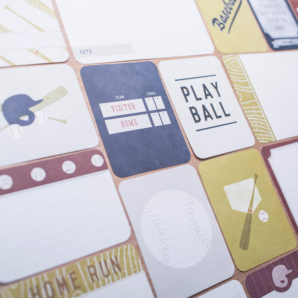 Baseball Themed Cards - Pocket Scrapbooking - 1