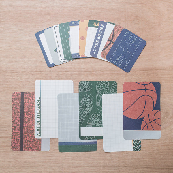 Basketball Themed Cards - Pocket Scrapbooking - 1