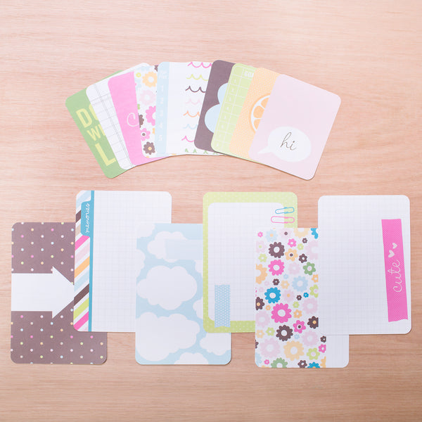 Planner Themed Cards - Pocket Scrapbooking - 1
