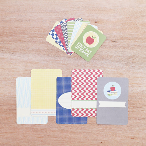 School Themed Cards - Pocket Scrapbooking - 1