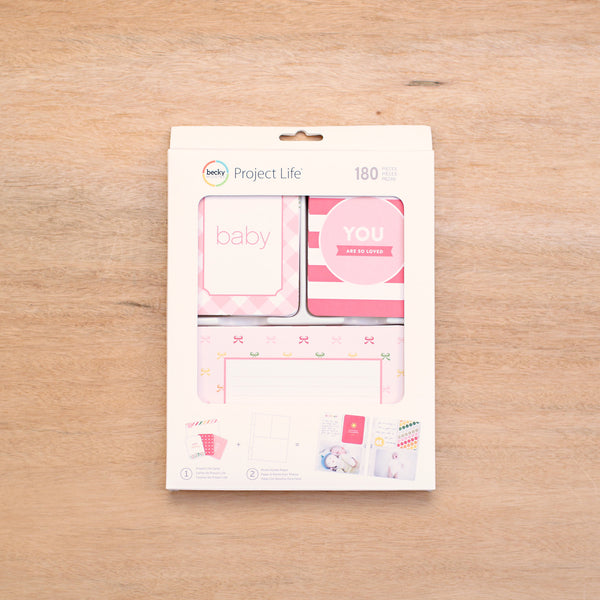 Baby Girl Value Kit - Pocket Scrapbooking & Memory Keeping - 1