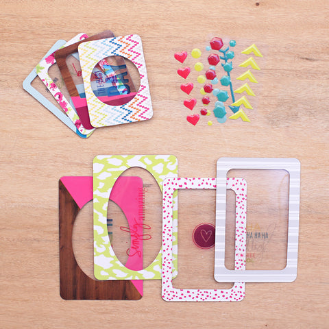 Bright Overlays Value Kit - Pocket Scrapbooking - 1