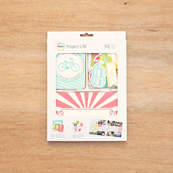Embossed Value Kit - Pocket Scrapbooking - 1