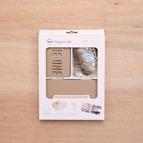 Kraft + Foil Value Kit - Pocket Scrapbooking - 1