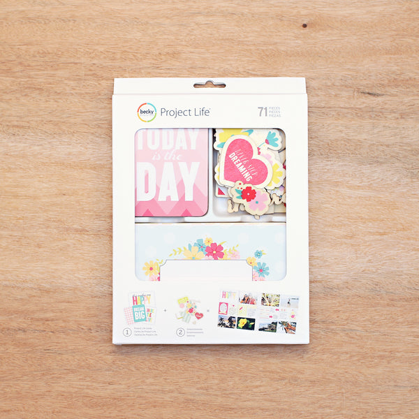 Note to Self Value Kit - Pocket Scrapbooking - 1