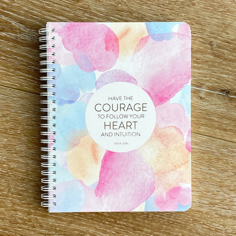 Courage Simple Notebook