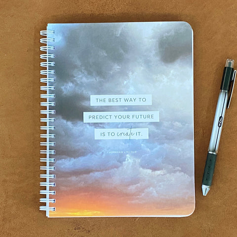 Create Your Future Simple Notebook