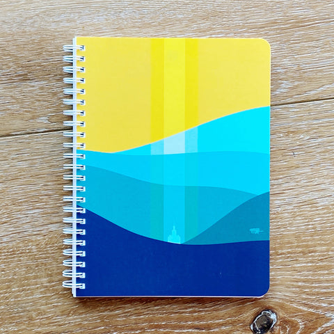 Blest Harbor Simple Notebook
