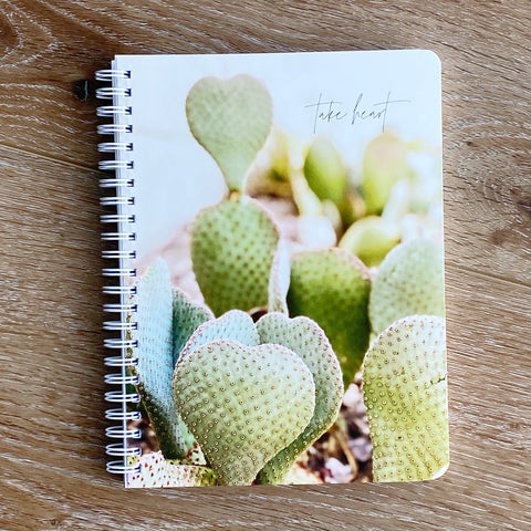 Take Heart Simple Notebook