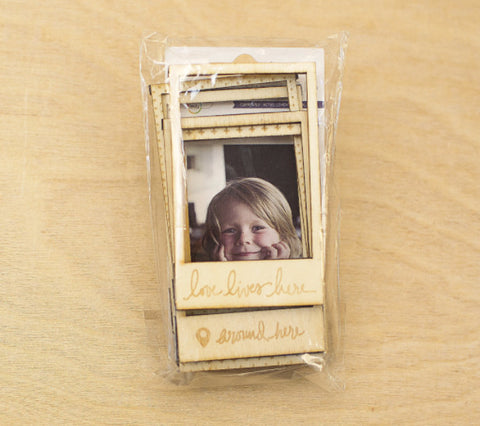 Currently Wood Magnetic Frames