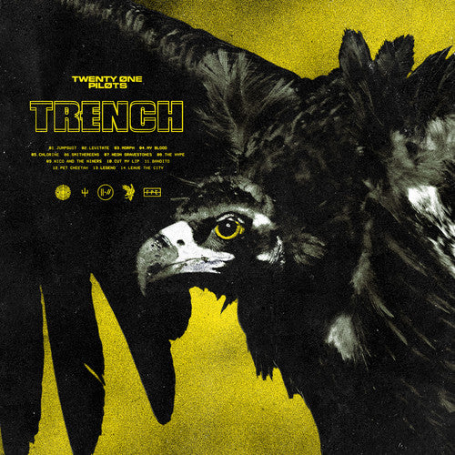 twenty one pilots - Trench (Olive Green Indie Exclusive 2 LP vinyl with download)
