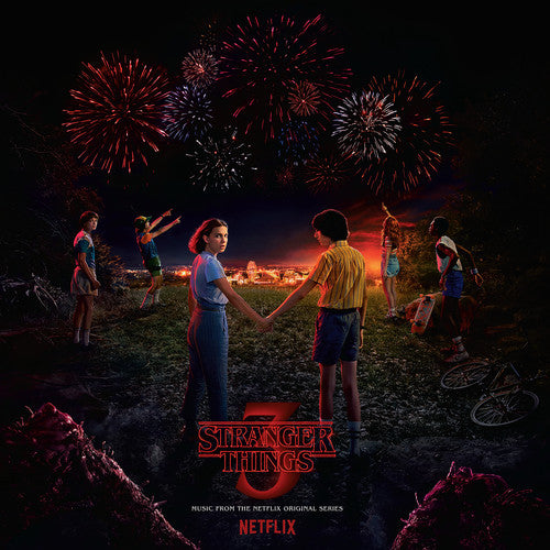 "Stranger Things Season 3 Soundtrack (150Gram 2LP, Poster and Bonus 7"")"