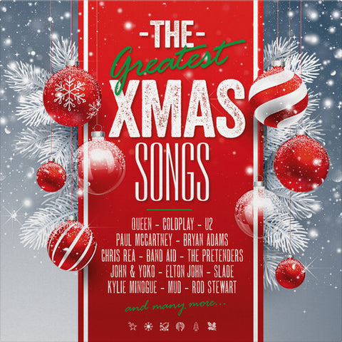 The Greatest Xmas Songs (Limited 2LP Colored Vinyl)