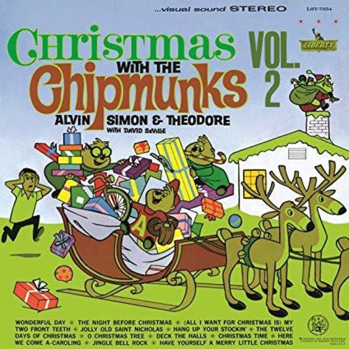 The Chipmunks - Christmas With The Chipmunks Vol 2 LP