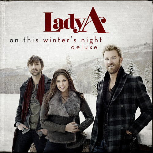 Lady A - On This Winter's Night (Red Deluxe LP)