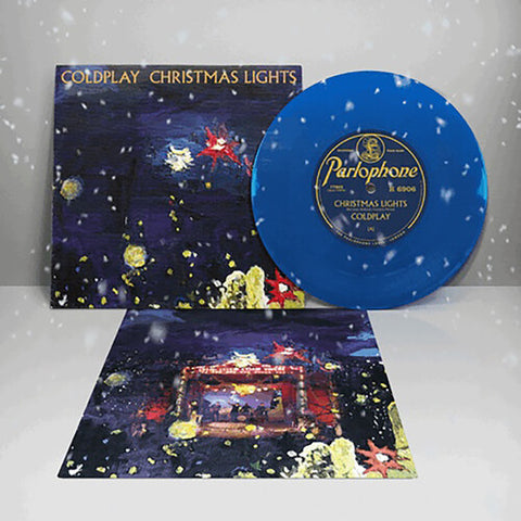 "Coldplay - Christmas Lights (Blue 7"")"