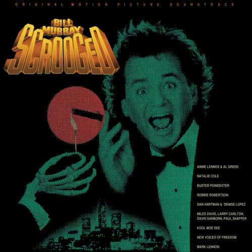Scrooged Motion Picture Soundtrack LP Various Artist