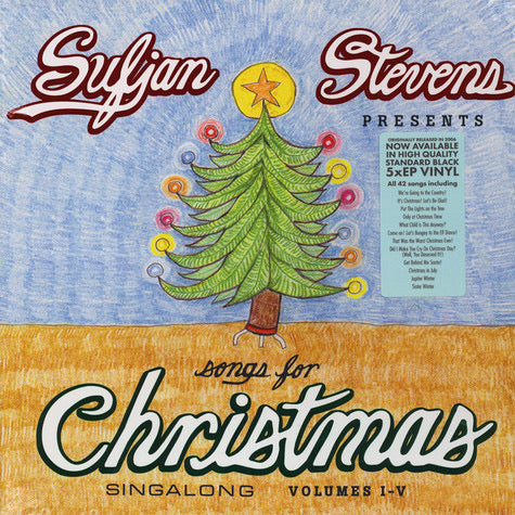Sufjan Stevens - Songs For Christmas (5LP Box Set)