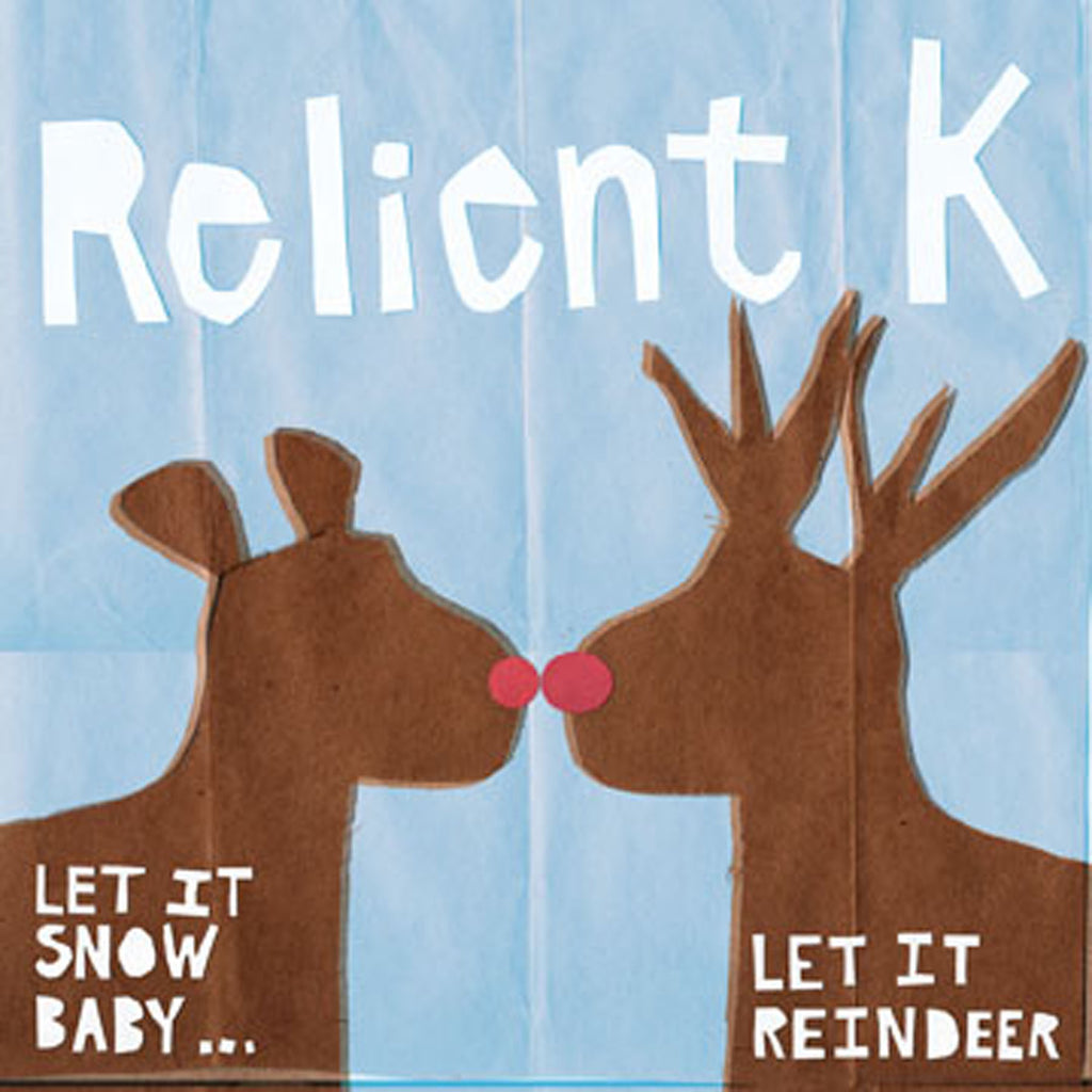 Relient K - Let It Snow Baby....Let It Reindeer Christmas Vinyl Double LP (Split Green/Red Vinyl)