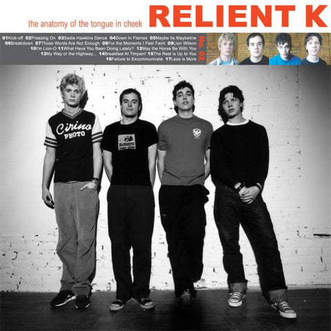 Relient K - The Anatomy Of The Tongue In Cheek Vinyl Double LP (Clear Disc)