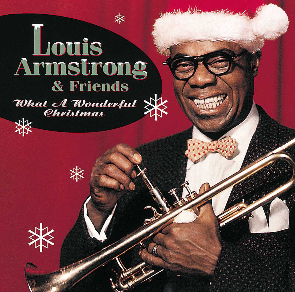 Louis Armstrong & Friends- What A Wonderful Christmas Vinyl (Red Disc)