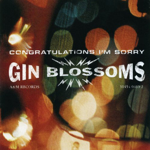 Gin Blossoms - Congratulations I'm Sorry LP