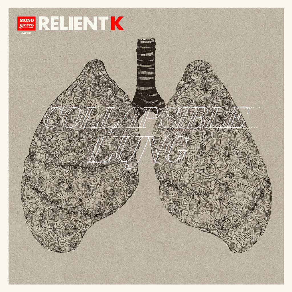 Relient K - Collapsible Lung Vinyl LP (Red Vinyl)