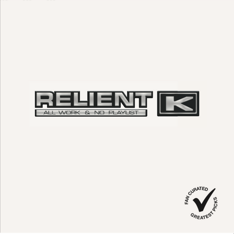 Relient K - All Work & No Playlist (Double LP Clear w/ White & Black Splatter)