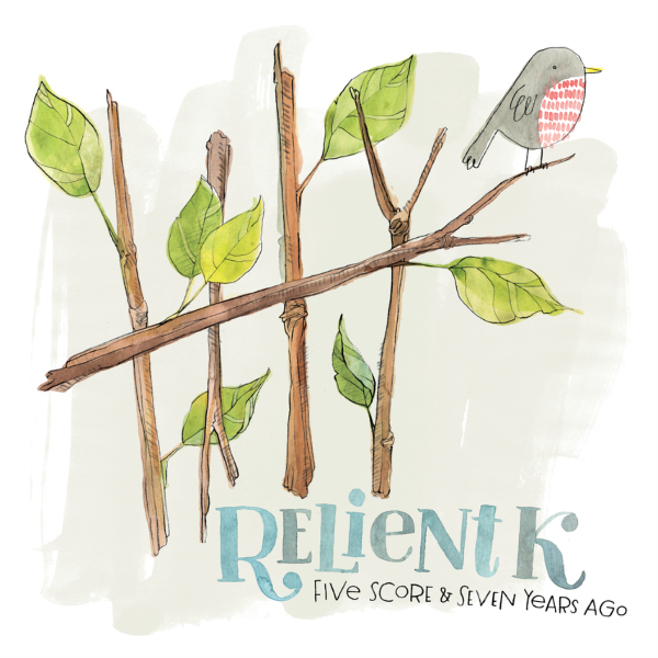Relient K - Five Score And Seven Years Ago Vinyl  Double LP (Clear w/ White & Green Smoke)