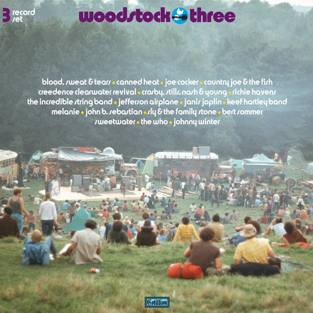 Woodstock Three (180Gram 3LP)